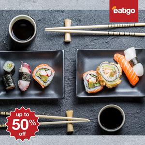5 hot sushi spots in Bangkok that you can get 50% off!
