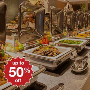 top 5 hotel buffets to go straight after work for 50% off!