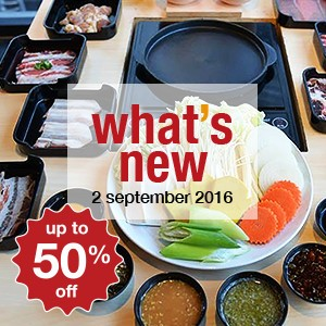 8 new restaurants this week! (2 September)