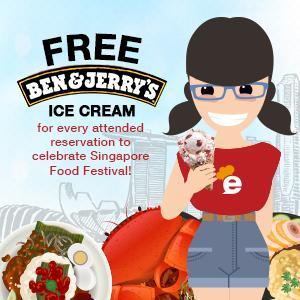 FREE Ben & Jerry's ice cream to celebrate Singapore Food Festival!