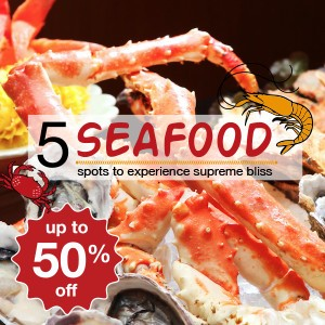 5 seafood spots to experience supreme bliss!