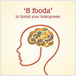 Blog: 8 foods to boost your brainpower
