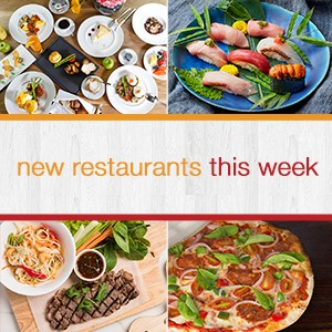 New! 4 restaurants in Bangkok with 50% off this week