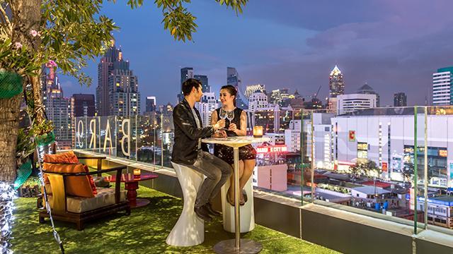 BAR9 Beer Garden @ Novotel Bangkok Platinum Pratunam