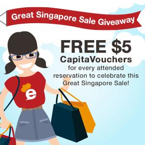 FREE CapitaVouchers up for grabs this weekend to join in the Great Singapore Sale frenzy!