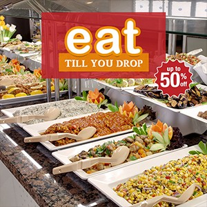 [Blog] Eat till you drop! 10 mouthwatering buffets from $13.45 to $29!