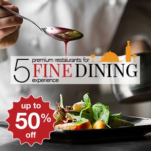 5 premium restaurants for a fine dining experience!