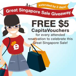 FREE CapitaVouchers galore - GSS Giveaway extended for 2 more days!
