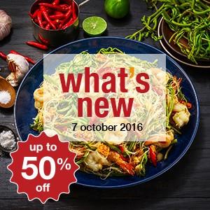 12 new restaurants this week! (7 October)