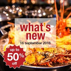 10 new restaurants this week! (16 September)