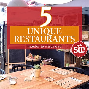 Blog: 5 unique restaurants interior to check out